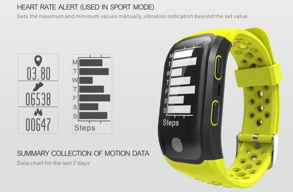 smart watch frequence cardiaque